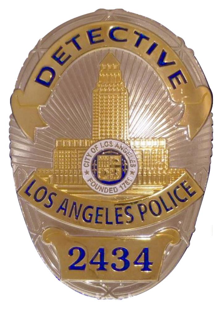 Detective Badge PNG
