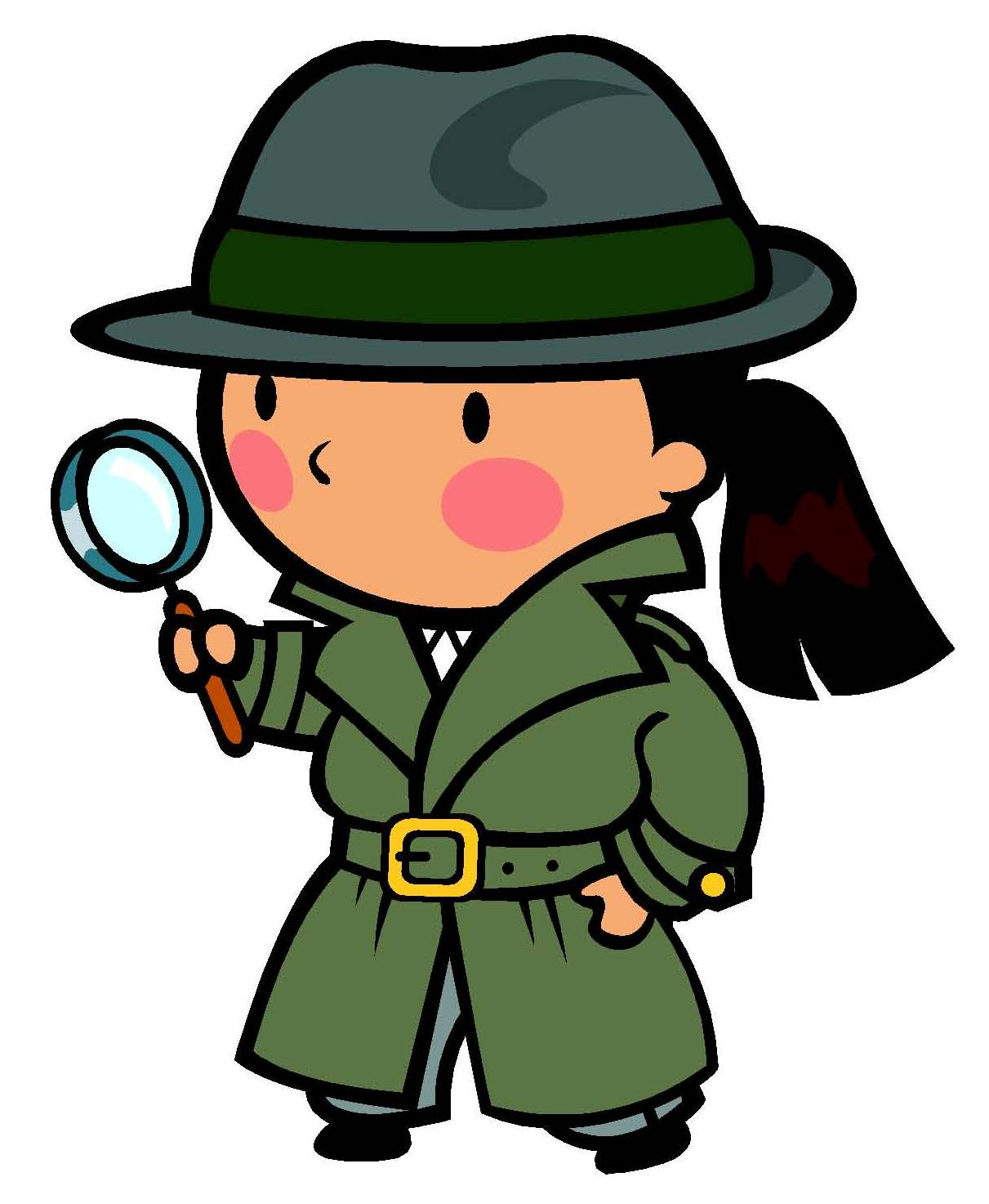 Detective clipart Hostted - Detective PNG Melonheadz