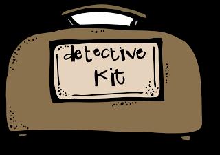 Detective clipart items downl