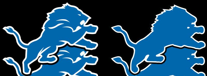 Detroit Lions Logo PNG - 32525