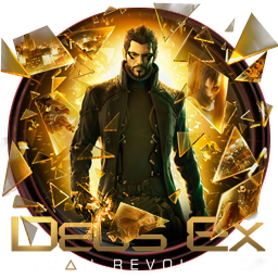 Deus Ex Human Revolution Icon by OutlawNinja PlusPng.com  - Deus Ex HD PNG