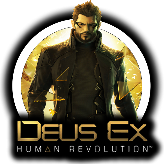 Filename: Deus-EX-Human-Revolution-by-lordamr.png - - Deus Ex HD PNG