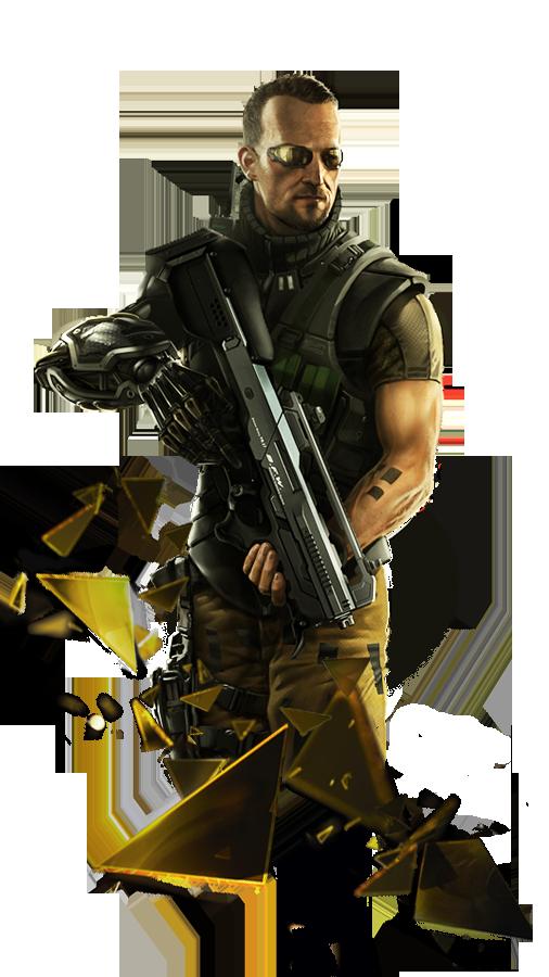 Ben saxon.png - Deus Ex PNG