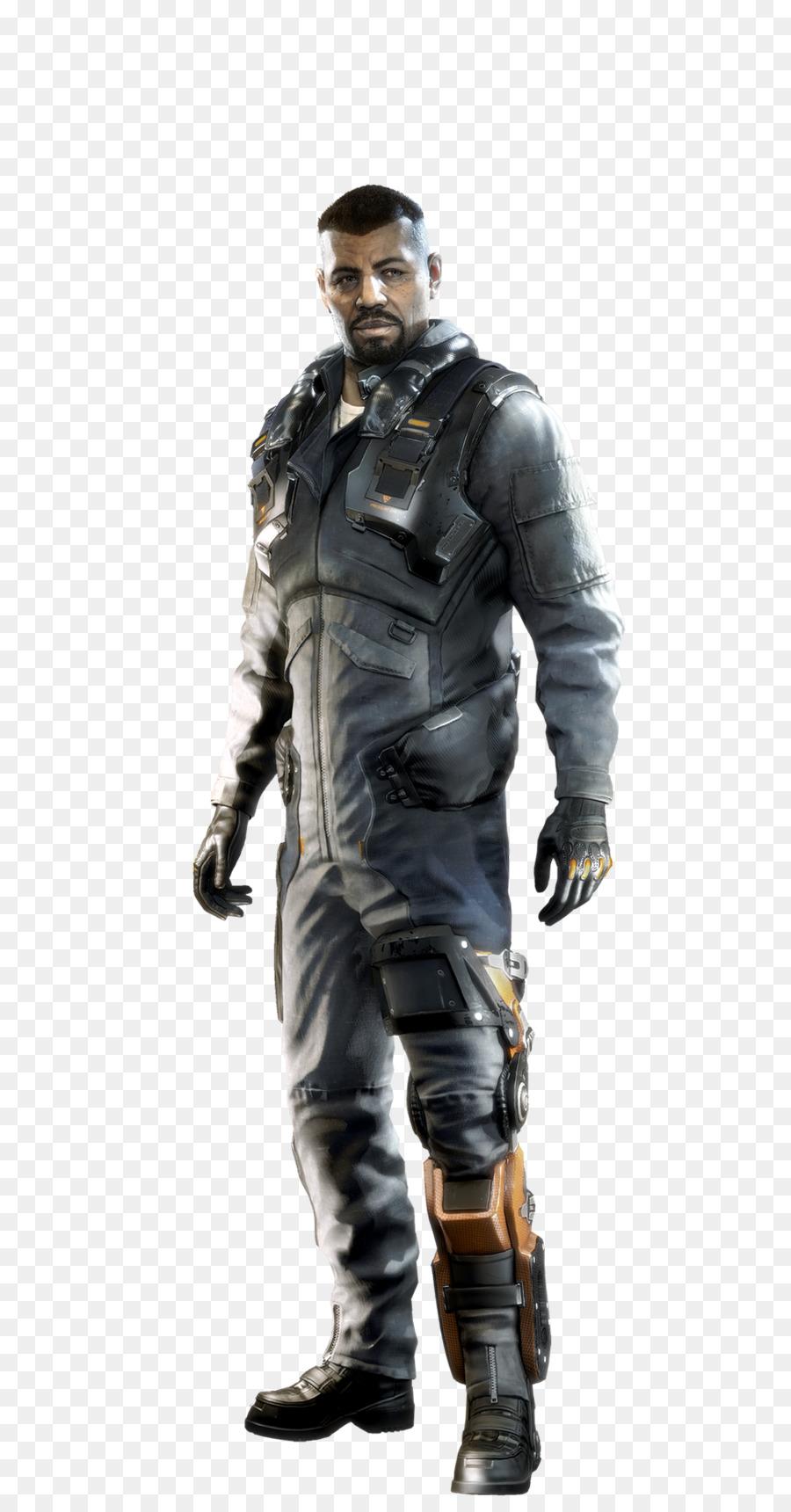 Deus Ex: Human Revolution Deus Ex: Mankind Divided Video game Soldier - Deus  Ex - Deus Ex PNG