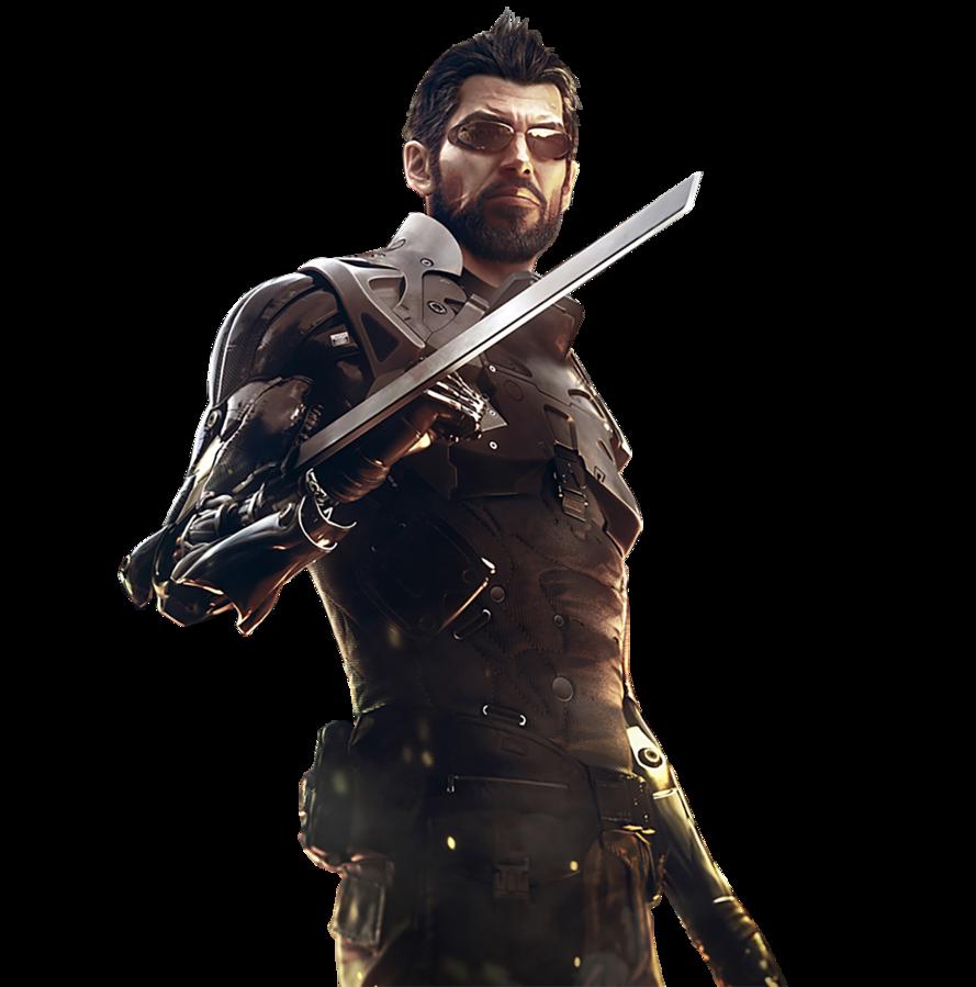 Deus Ex: Mankind Divided Render by Amia2172 PlusPng.com  - Deus Ex PNG