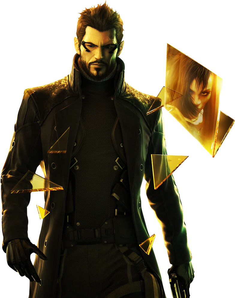 DXHR - Adam Jensen - Deus Ex PNG