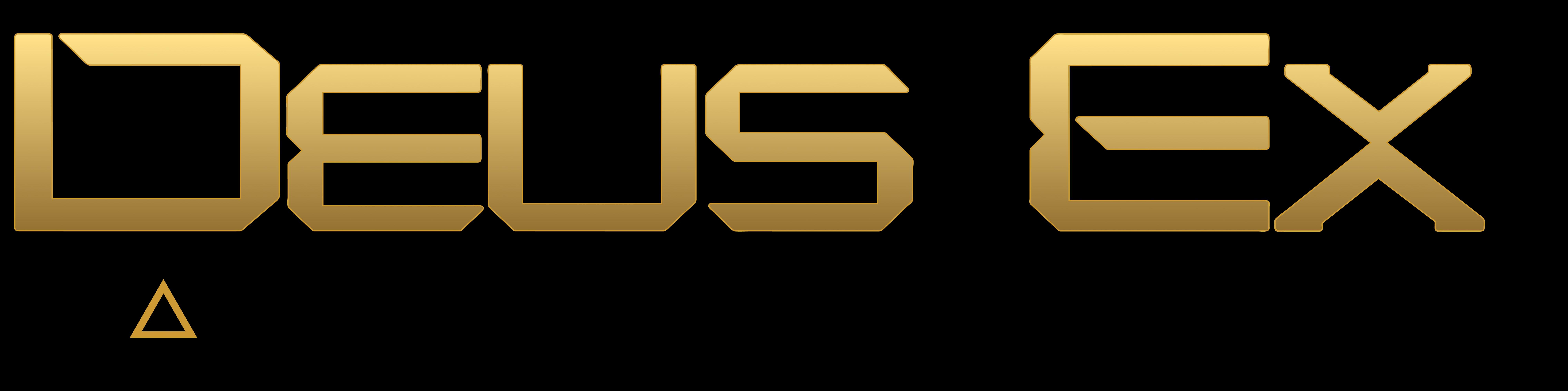 File:Deus Ex Mankind Divided logo.png - Deus Ex PNG