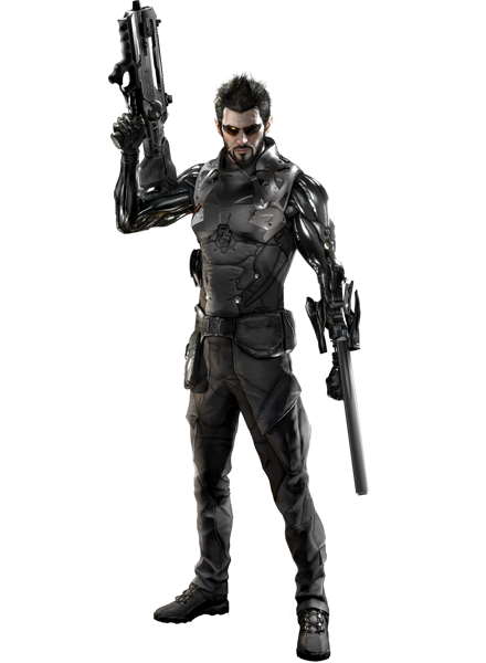 Gelişimi engelleyemezsin - Deus Ex PNG