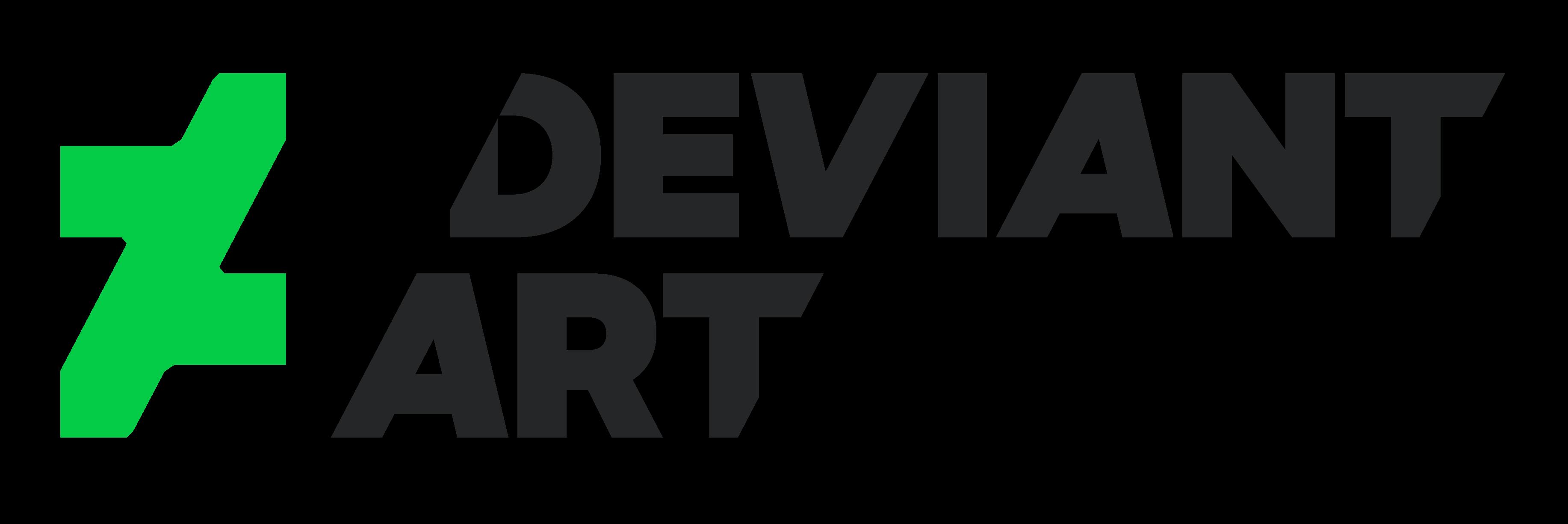 DeviantART logo by n0M3n Devi