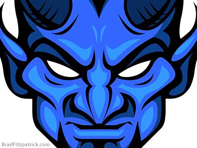 Devil Head PNG HD - 126992