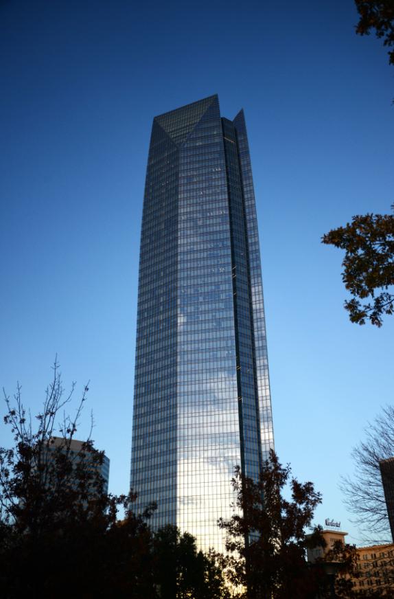 The tallest building in Oklahoma! Devon Tower - Devon Energy PNG