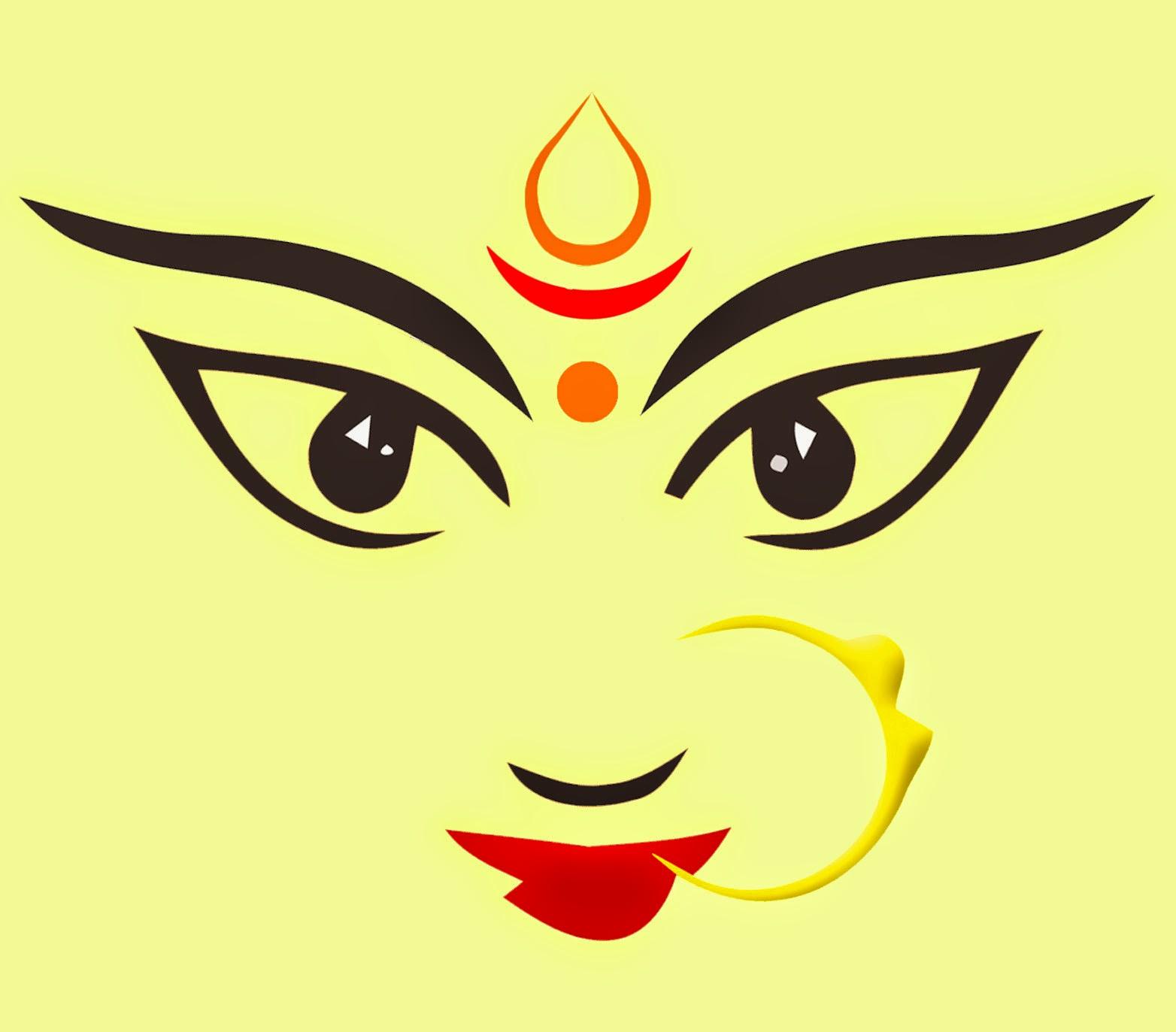 Maa Durga - Dhaki PNG In Durga Puja