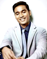 Actor Dhanush is a star in his own right and is riding the crest after the  release of Maryan and Hindi debut Raanjhanaa. - Dhanush PNG