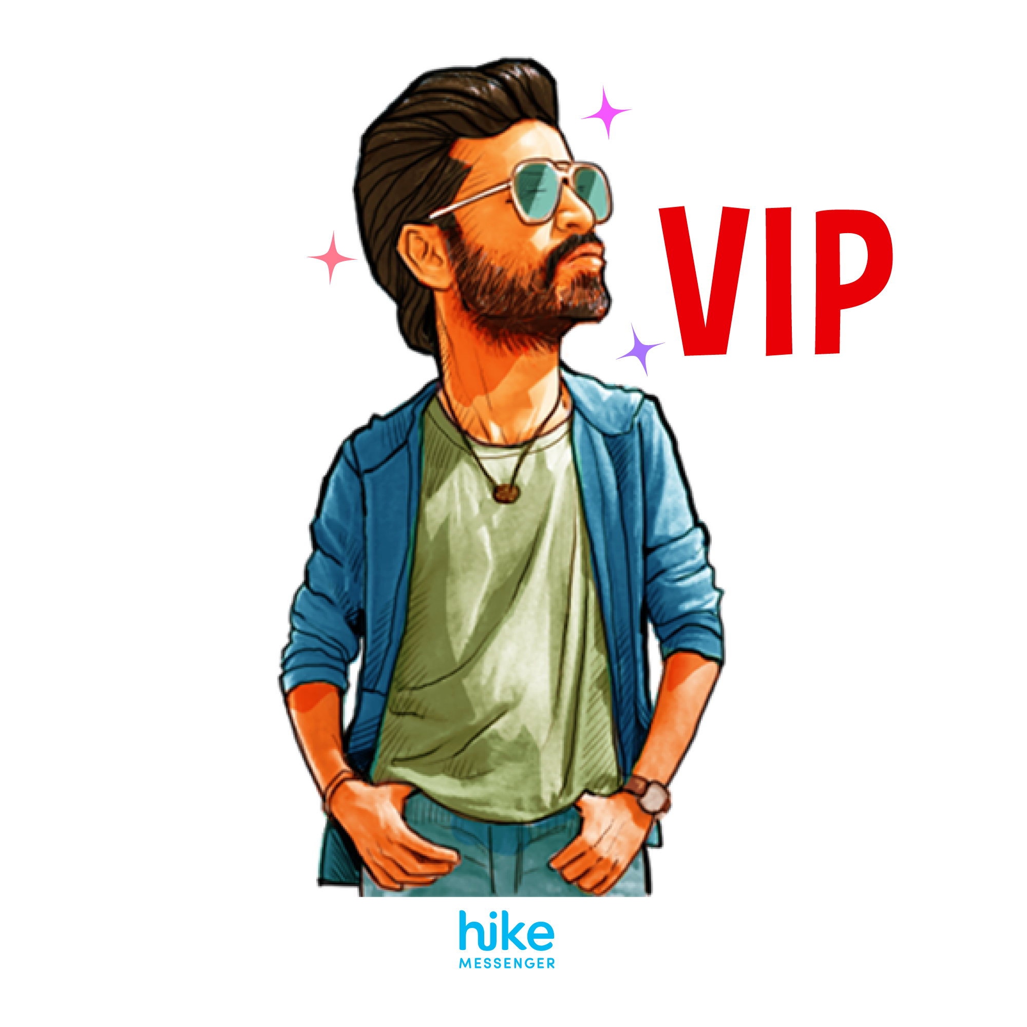 Hike users can bring conversations alive with animated stickers of Dhanush  as he plays the angry PlusPng.com  - Dhanush PNG