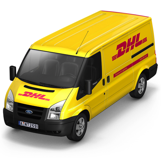 dhl, front icon. Download PNG - Dhl PNG