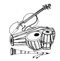 Dhol PNG Black And White - 135139