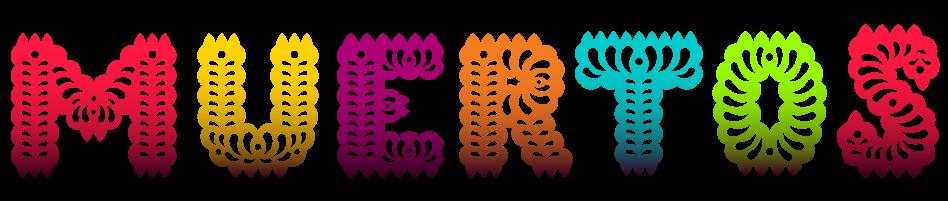 Muertos - Dia De Los Muertos Banner PNG