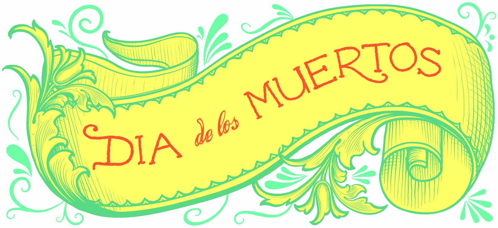 Spool and SpoonDía de los Muertos - Dia De Los Muertos Banner PNG