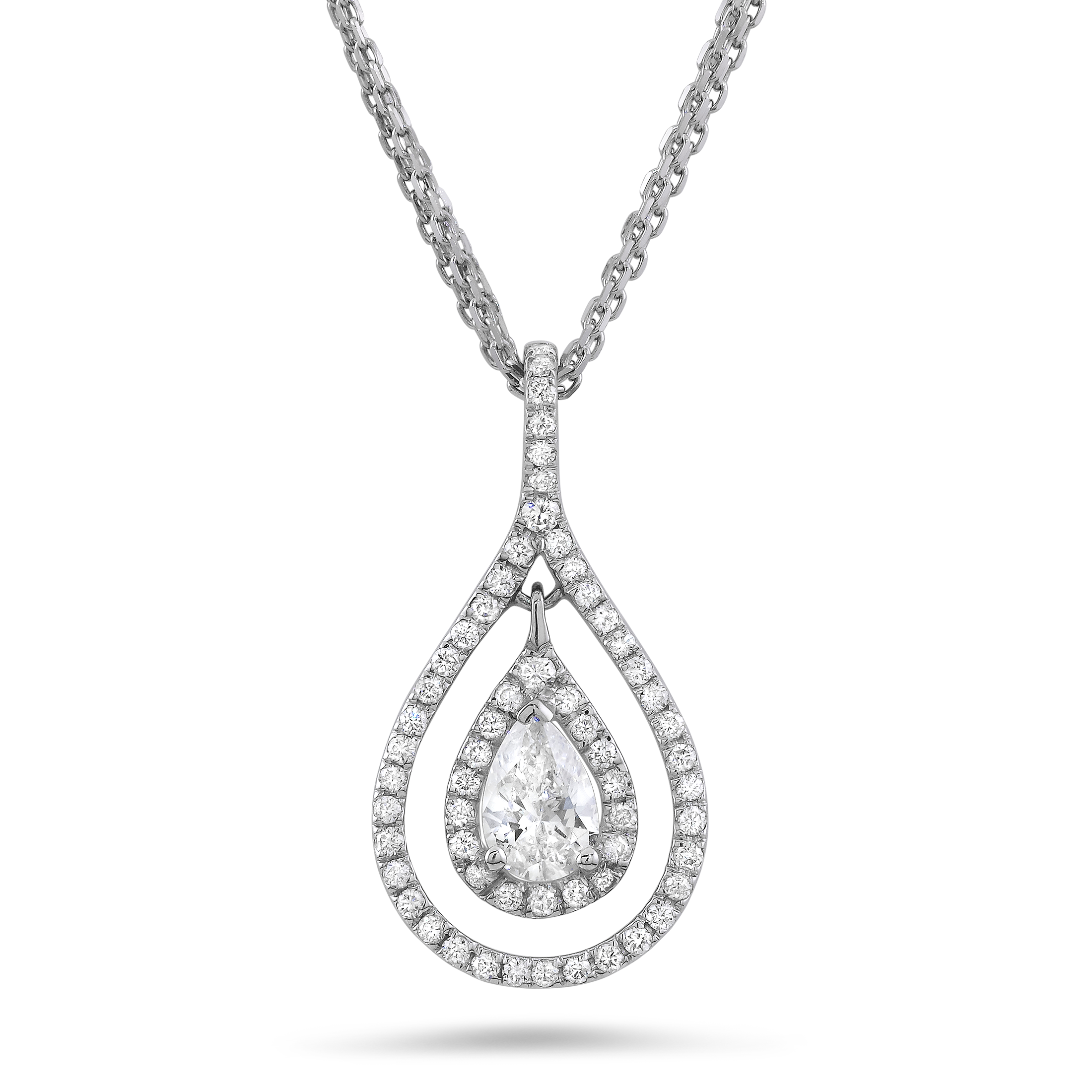 Beautiful pear cut diamond ne