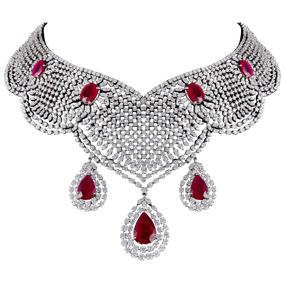 Diamond Necklace PNG - 74795