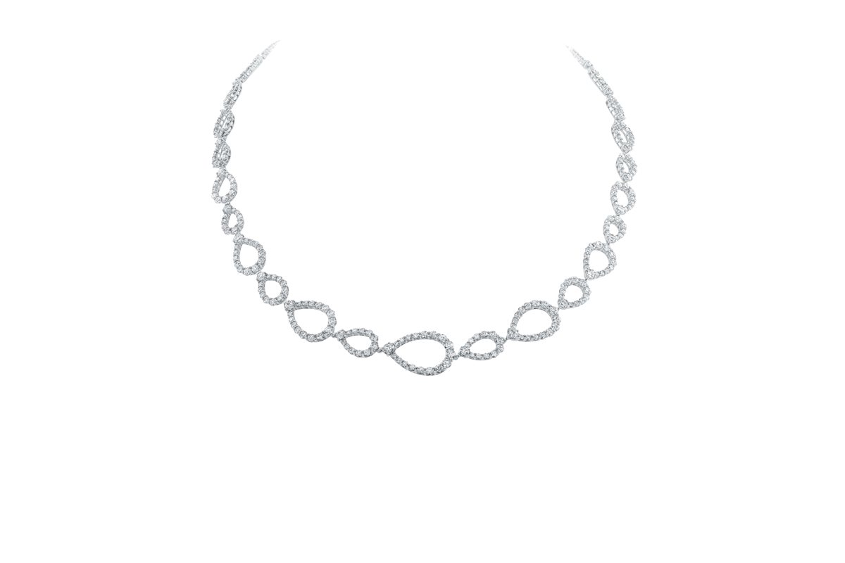 Diamond Necklace PNG - 74805