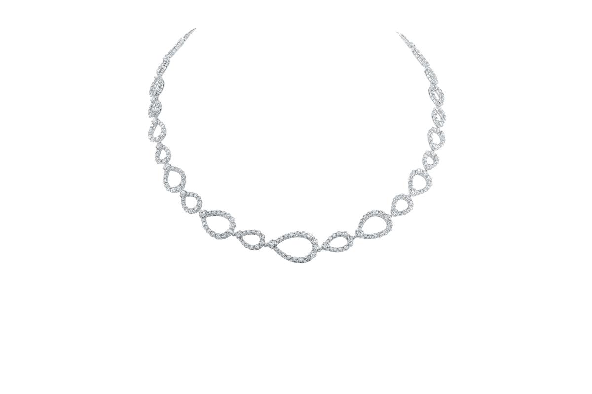 Diamond Loop by Harry Winston, Diamond Necklace - Diamond Necklace PNG