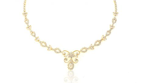 Diamond Necklace PNG - 74793