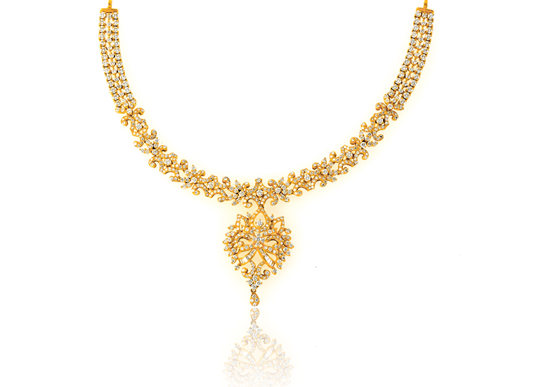 Necklaces - Diamond Necklace PNG