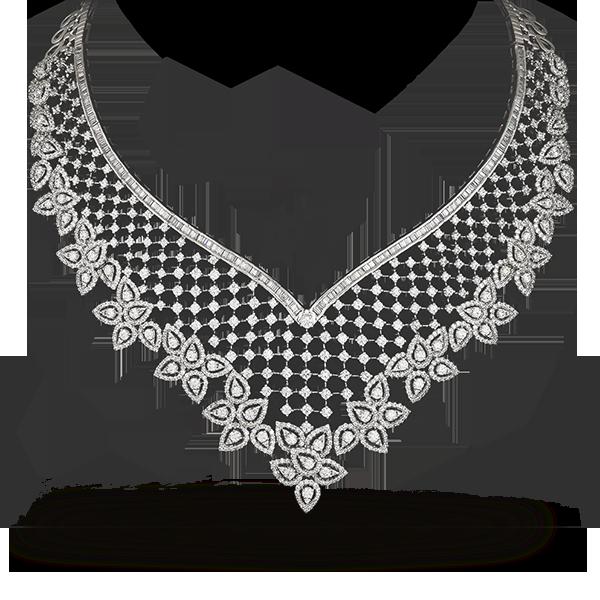Shobha Asar - Diamond Necklace PNG