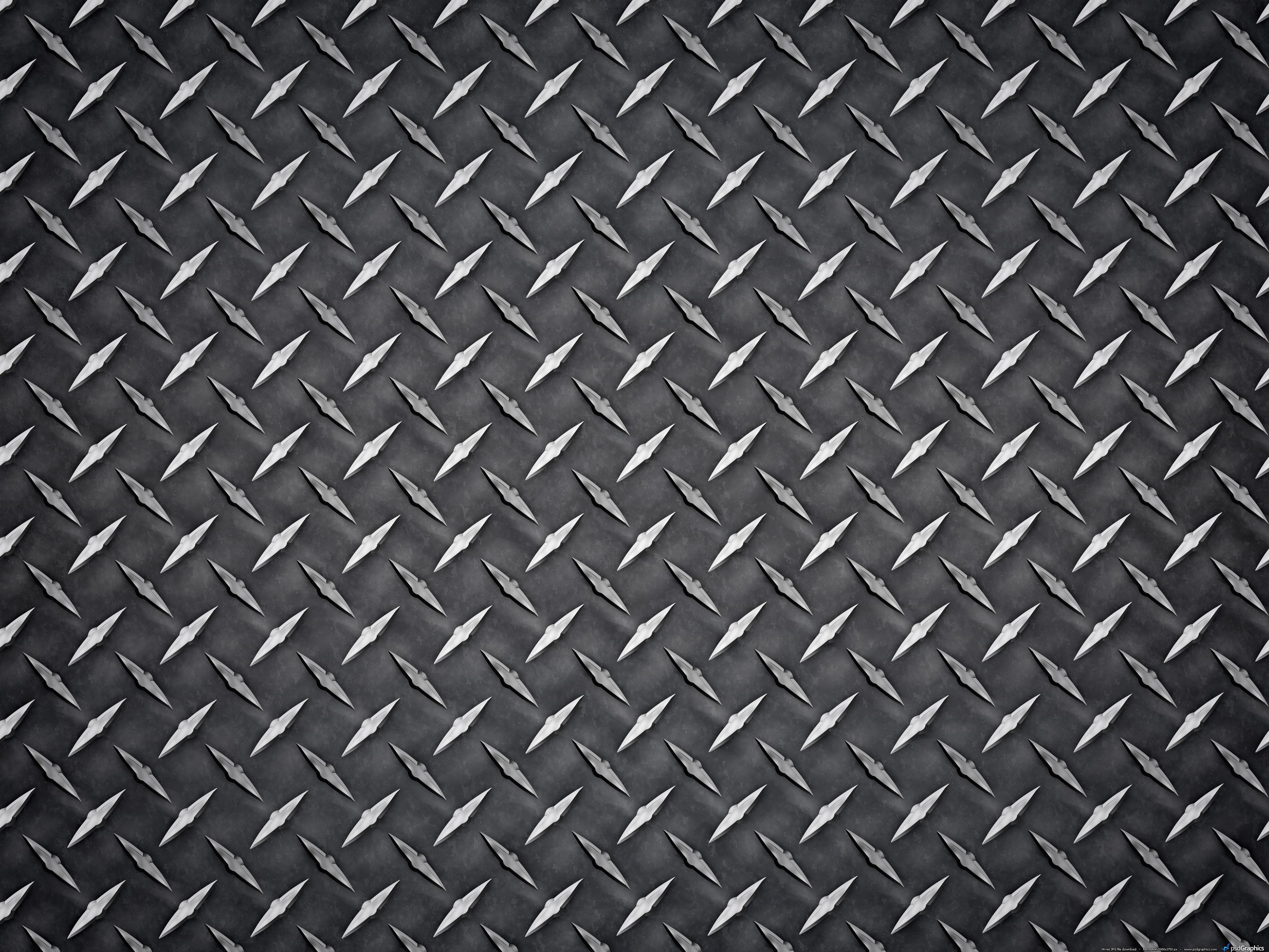 . PlusPng.com black-diamond-plate.jpg PlusPng.com  - Diamond Plate PNG HD
