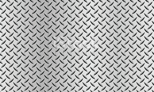 Seamless Background With A Diamond Plate Texture stock vector art 140050300  | iStock - Diamond Plate PNG HD