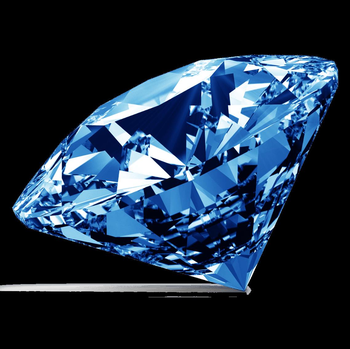 Blue Diamond - Diamond PNG