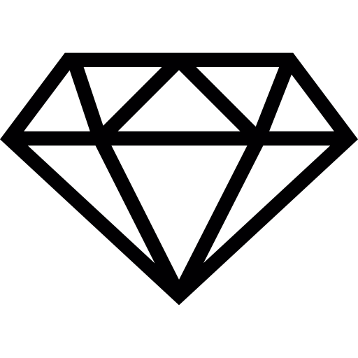 Small diamond free icon - Diamond PNG