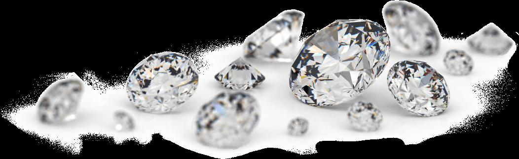 Transparent Loose Diamonds PNG - Diamond PNG