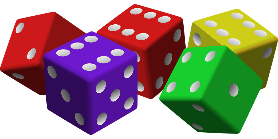 Dice, Game, Luck, Gambling, Cubes, Red - Dice HD PNG