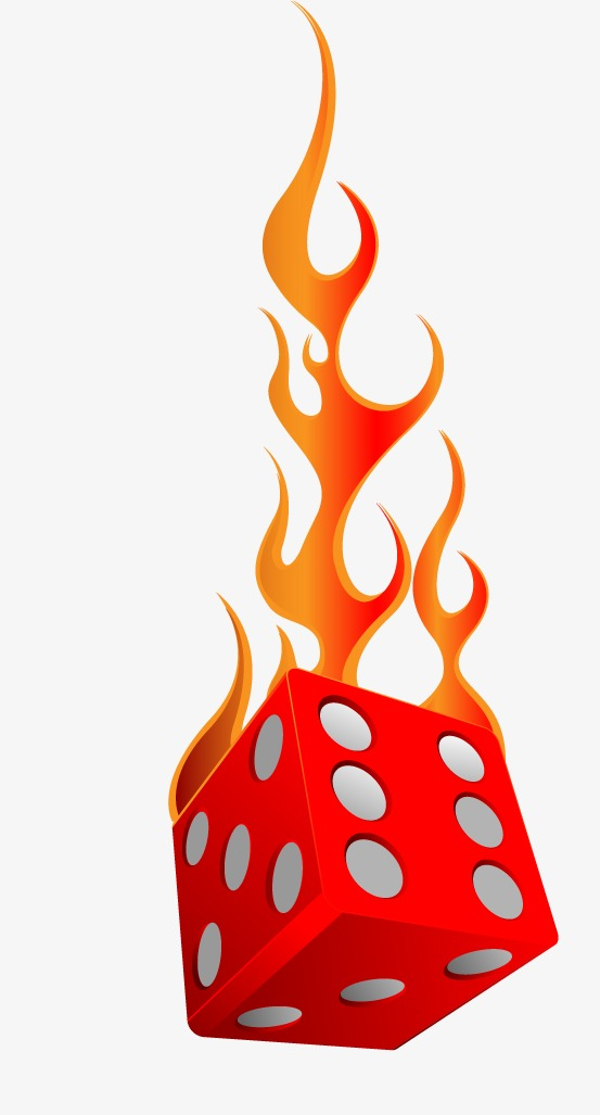 Vector Burn Dice, Hd, Vector, Fire Free PNG And Vector - Dice HD PNG