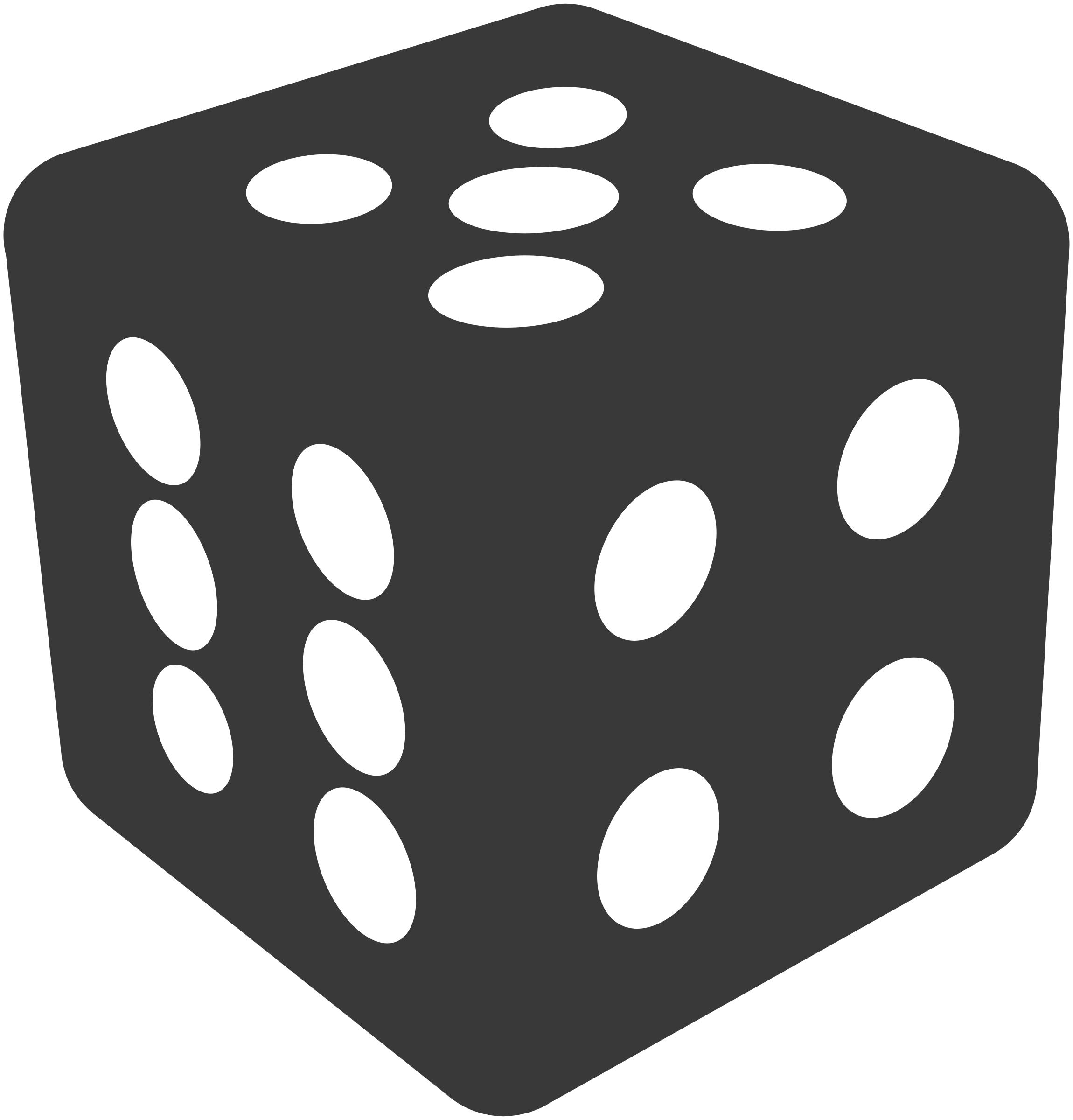 Simple dice - Dice PNG