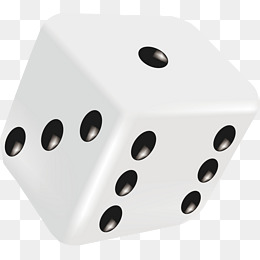 white dice, Vector Dice Material, Dice Elements, Cartoon Dice PNG and Vector - Dice PNG