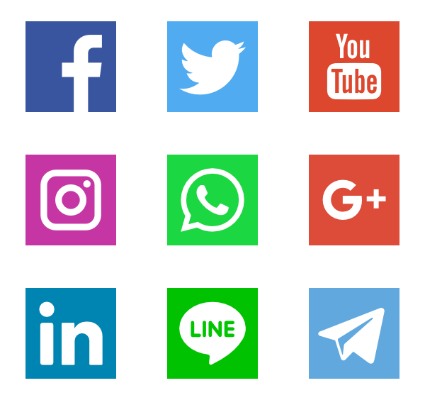 Social Networks Logos - Did You Know Free PNG