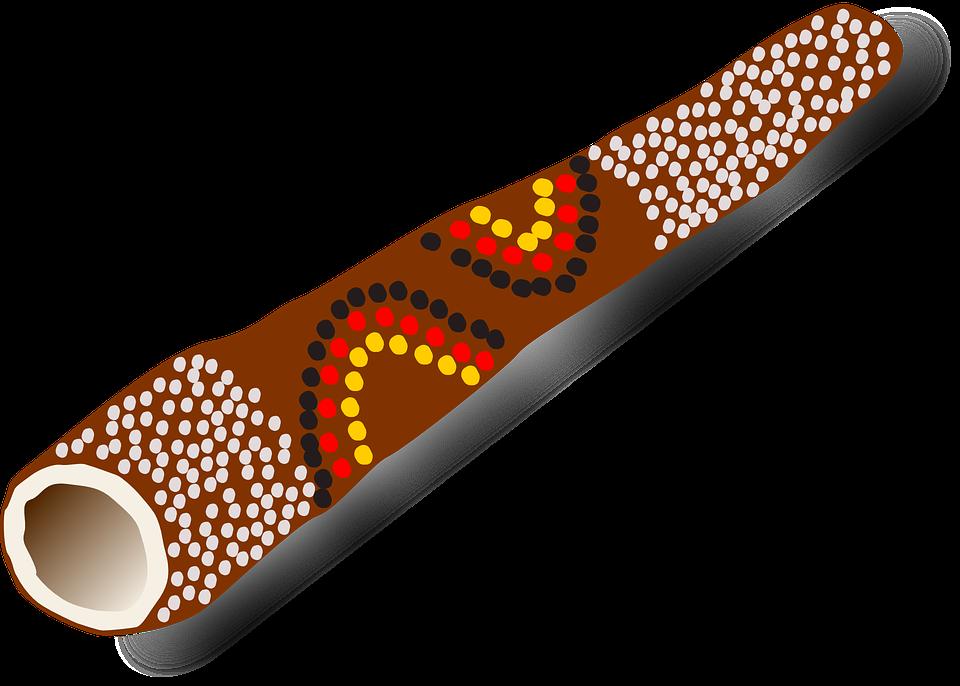 Didgeridoo PNG-PlusPNG.com-960 - Didgeridoo PNG