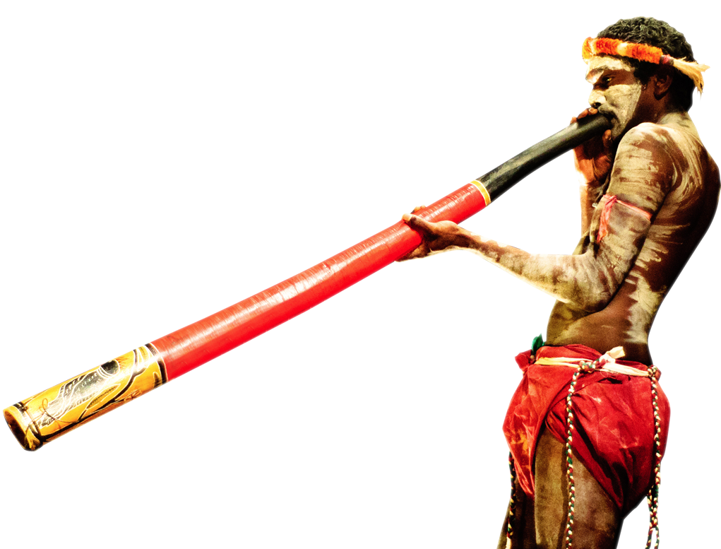 Indigenous Work - Didgeridoo PNG