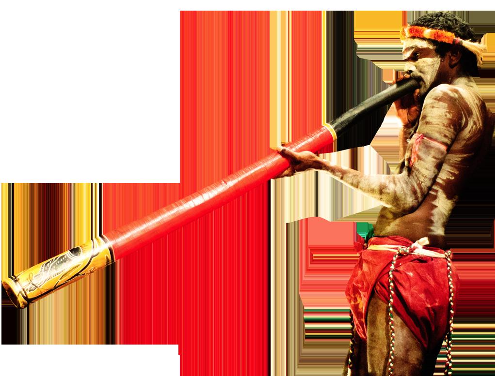 Indigenous Work - Didgeridoo PNG