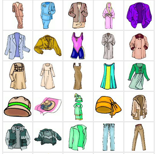 Different Types Of Clothes PNG