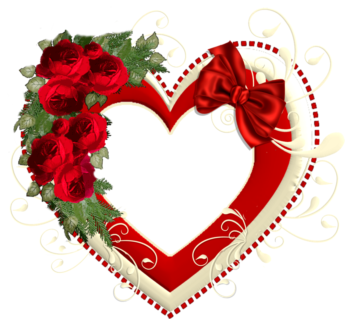 Frame-heart-png-thrity-one - Dil PNG