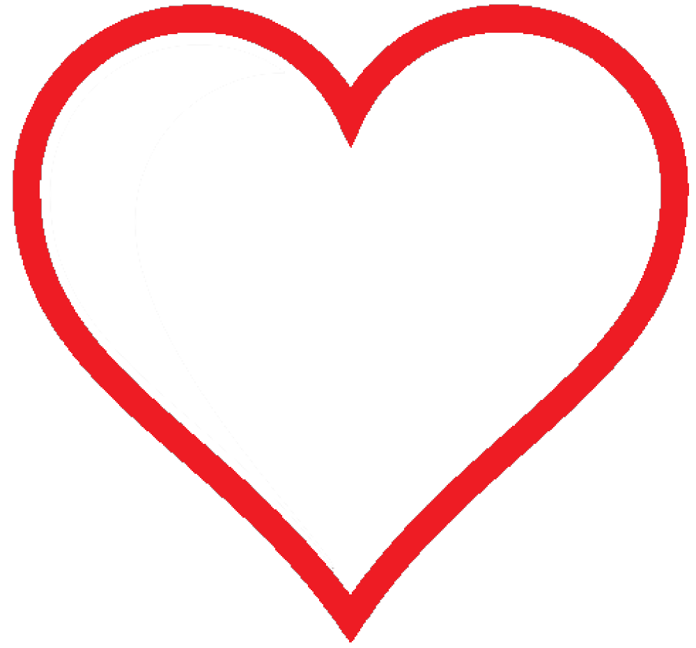 Red Hearts Transparent PNG Im