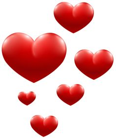 Red Hearts Transparent PNG Image - Dil PNG