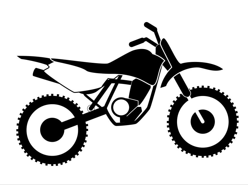 Cycle Series - Dirtbike - Dirt Bike PNG Free