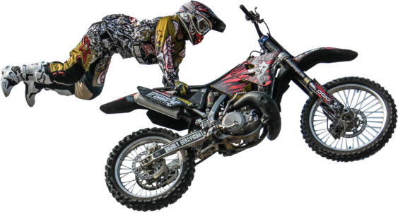 Motocross Transparent PNG Sticker - Dirt Bike PNG Free