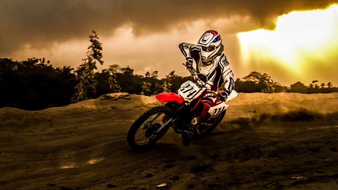 Honda dirtbike - Dirt Bike PNG HD