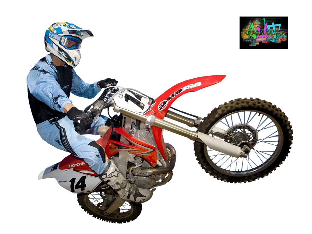 Motocross Transparent PNG Sticker - Dirt Bike PNG HD